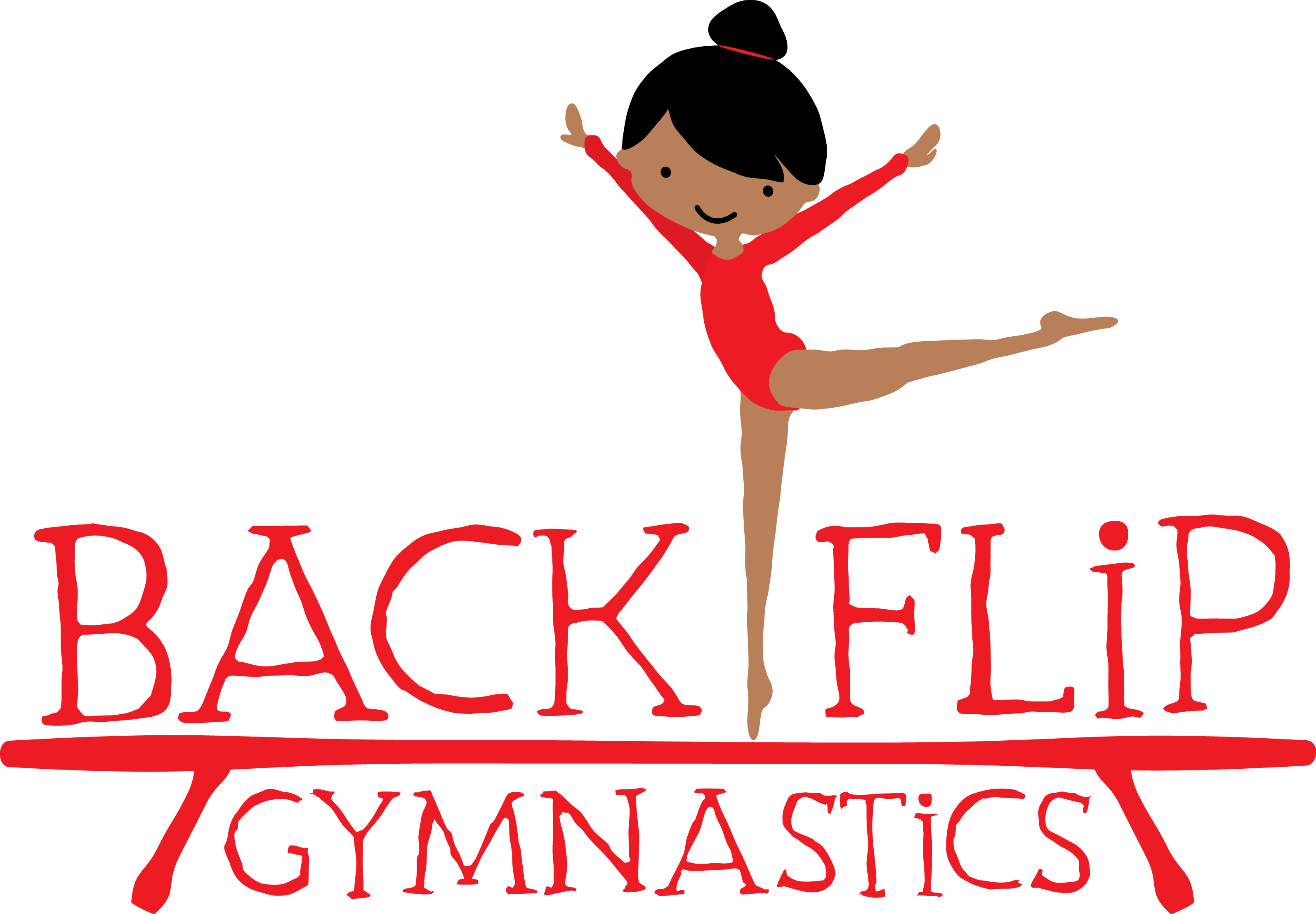 transparent library Home page backflip . Gymnastics clipart gymnastics party