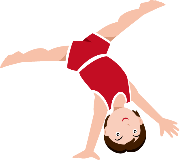 picture black and white download Tumbling clipart handspring.  collection of gymnastics