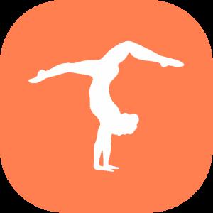 jpg freeuse download Gymnastics clipart gymnastics camp. Icon jersey shore academy
