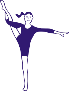 clipart royalty free download Gymnastics clipart svg. Aerobics clip art at