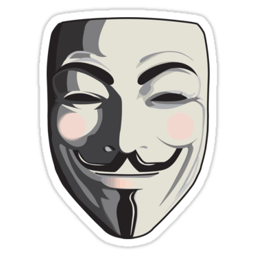 png black and white library anonymous transparent hacker #109539719