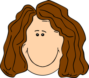 image freeuse download Hair clipart brown.