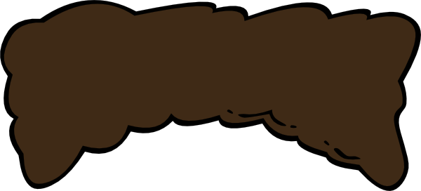 svg freeuse stock Hair clipart brown. Tall clip art at