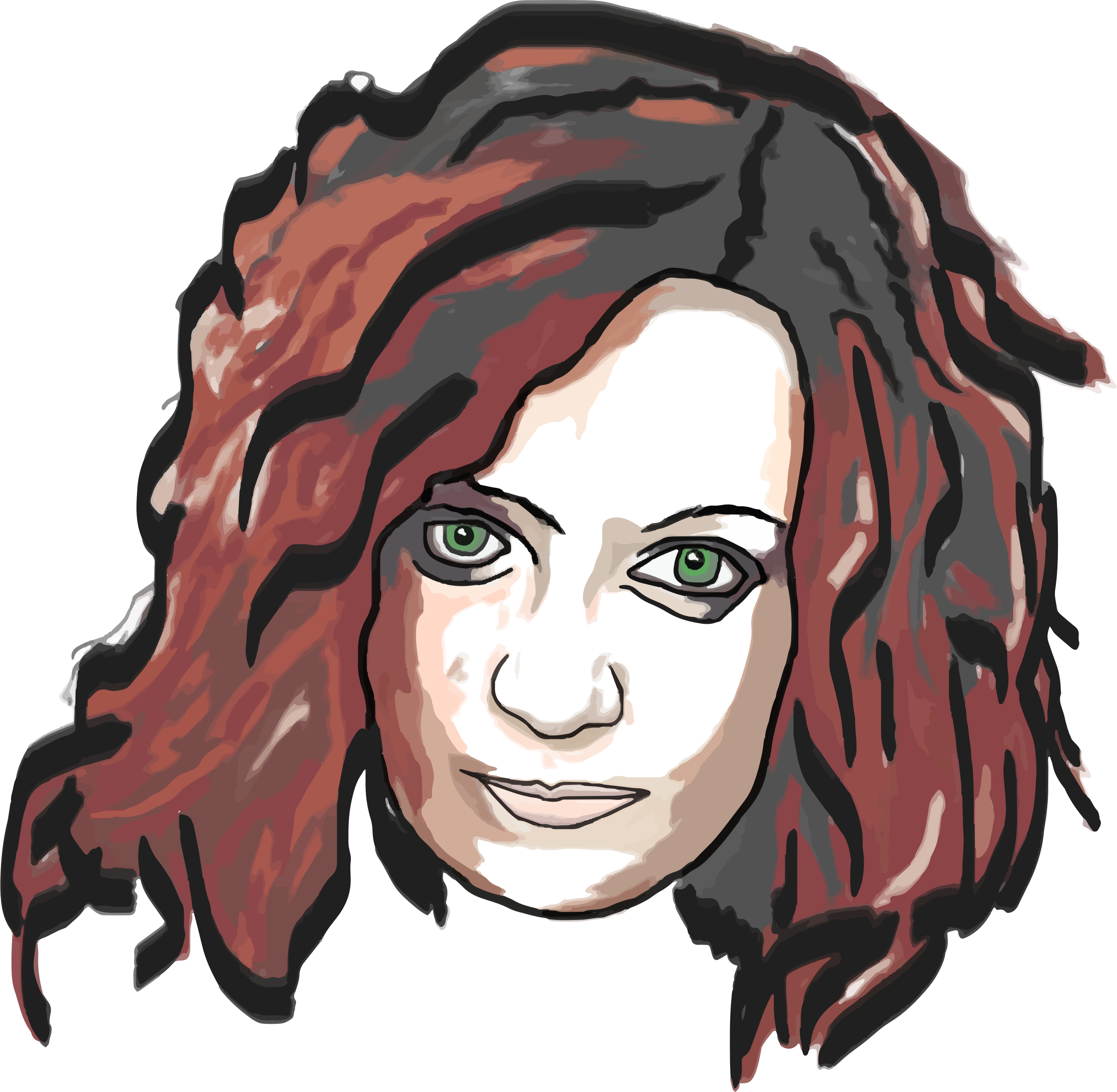 picture download Hair clipart disheveled. Woman big image png