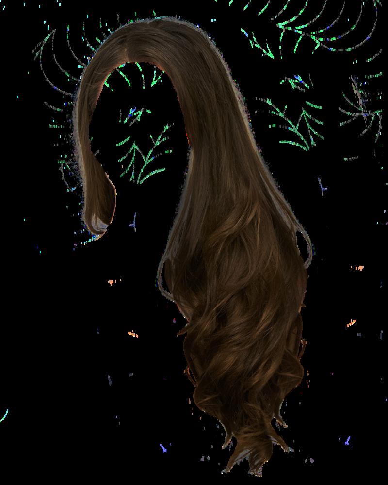 clip Dark black wig free. Hair clipart hair emo