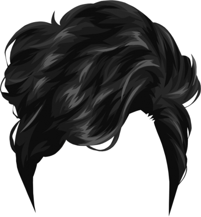 clip art black and white library Download hairstyles free png. Hair clipart male