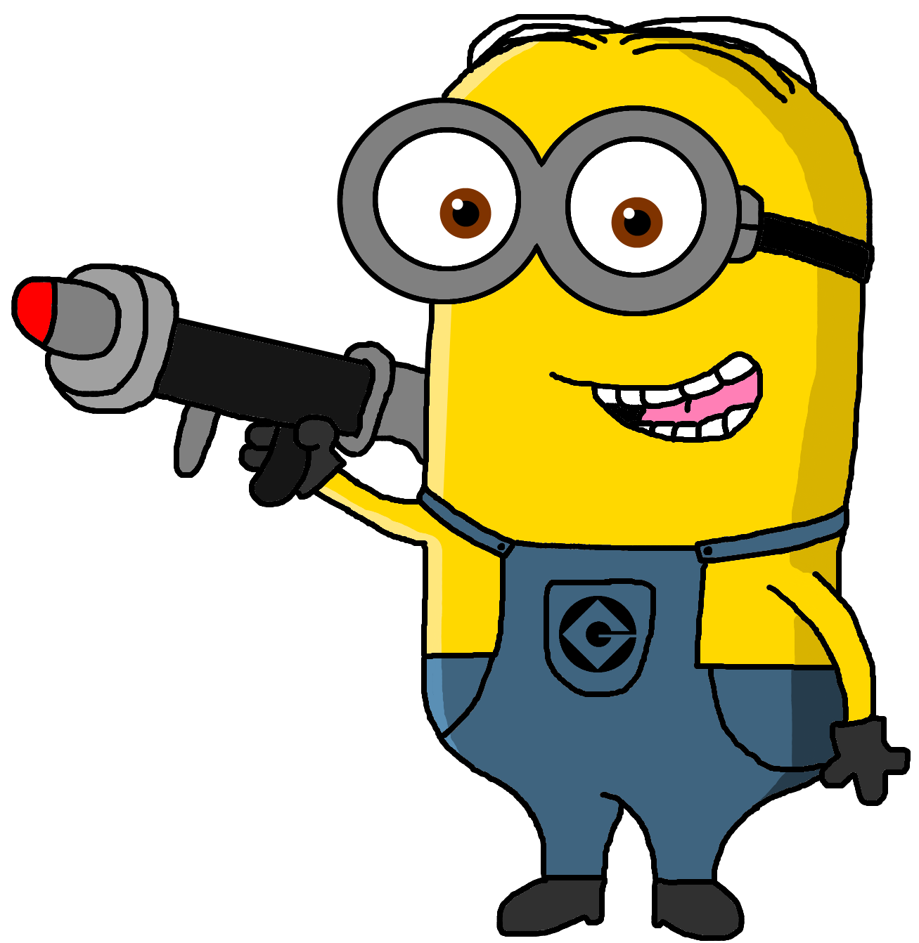 clip free stock Image dave the in. Hair clipart minion