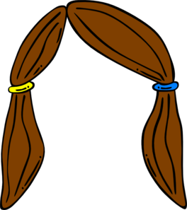 clip royalty free download Clip art at clker. Hair clipart