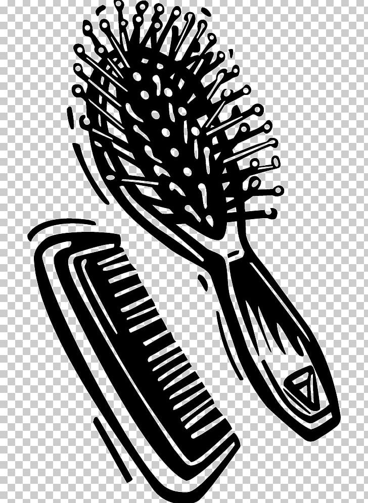 clip art library download Graphics png art barber. Hairbrush clipart comb