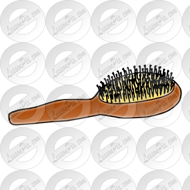 jpg Hairbrush clipart hair brush. Picture for classroom therapy