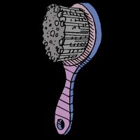 svg library stock Hairbrush clipart suklay. Spanish vocabulary practice el