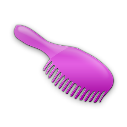 image library download Brush hair brushes icon. Hairbrush clipart violet thing