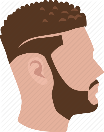 clipart Male hairstyles color