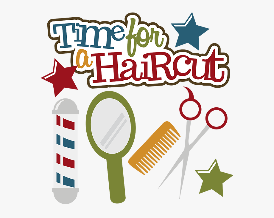 jpg library library Haircut clipart. Hair cut free cliparts