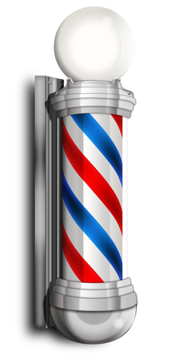 picture royalty free download Our services plaza hairstyling. Haircut clipart barber shop pole
