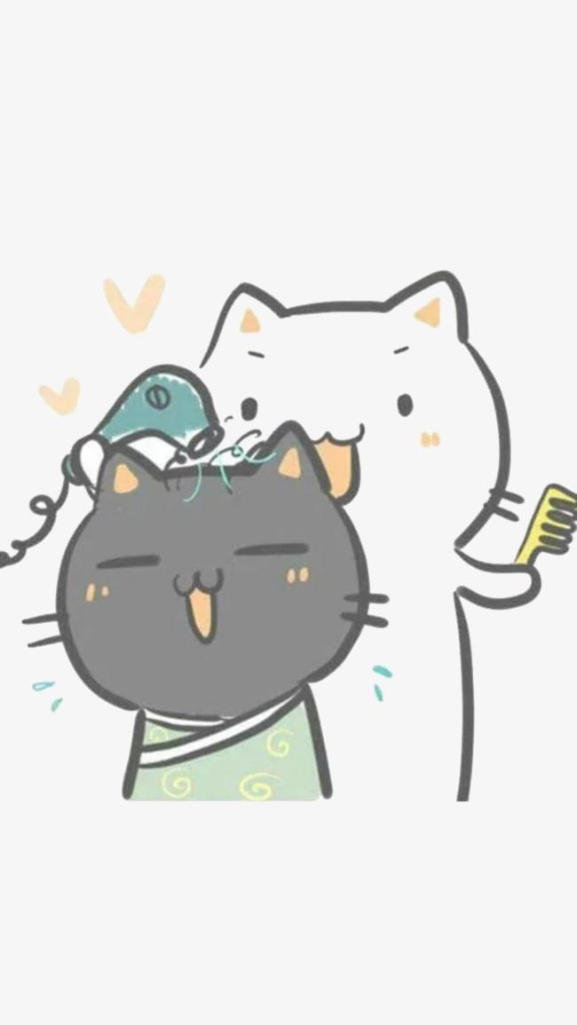jpg free stock Haircut clipart cartoon. Cat hair cut png