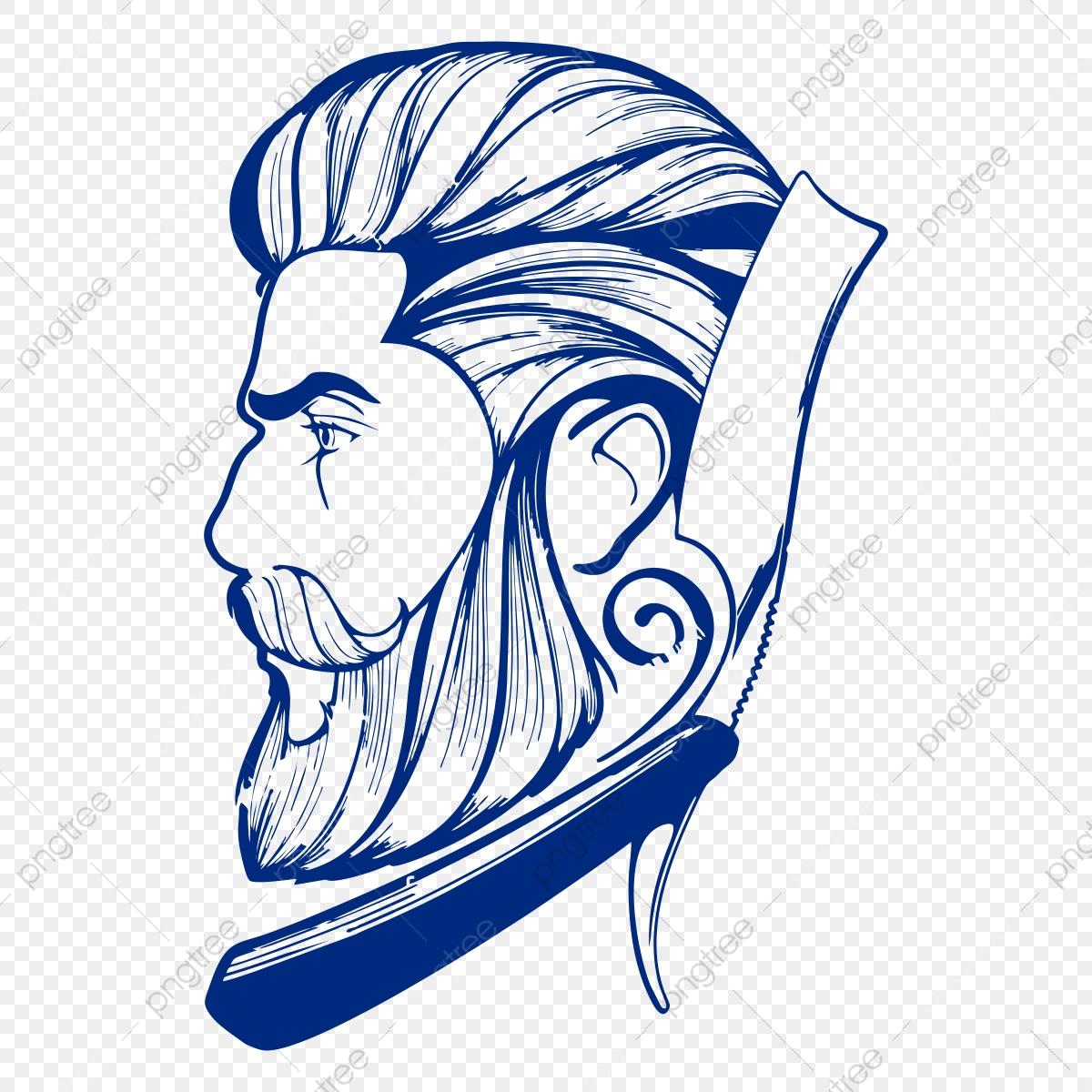 clipart black and white stock Barber shop . Haircut clipart cartoon