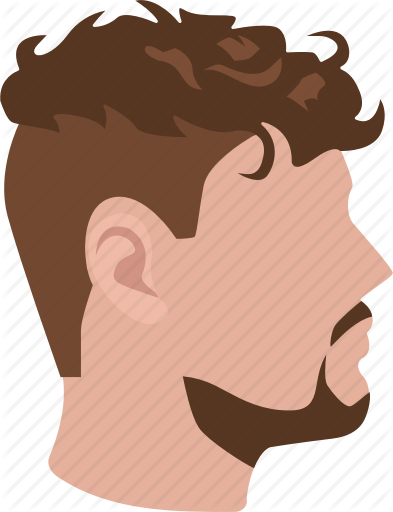 clip art royalty free download Male hairstyles color