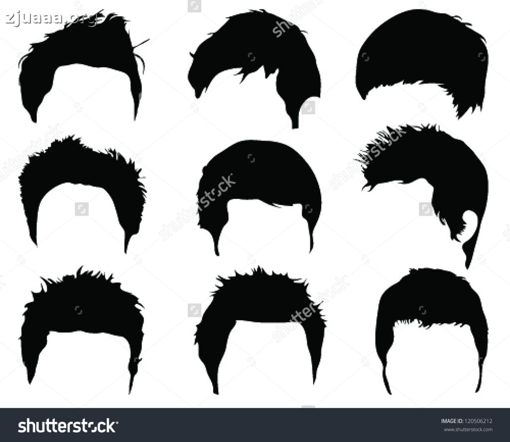 clip royalty free stock Haircut clipart curly hairstyle. Mens of hairstyles gucciguanfangwang