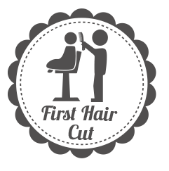 banner transparent stock Haircut clipart first haircut. Maddy magoo crazy about