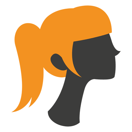 vector library Ladies haircut style