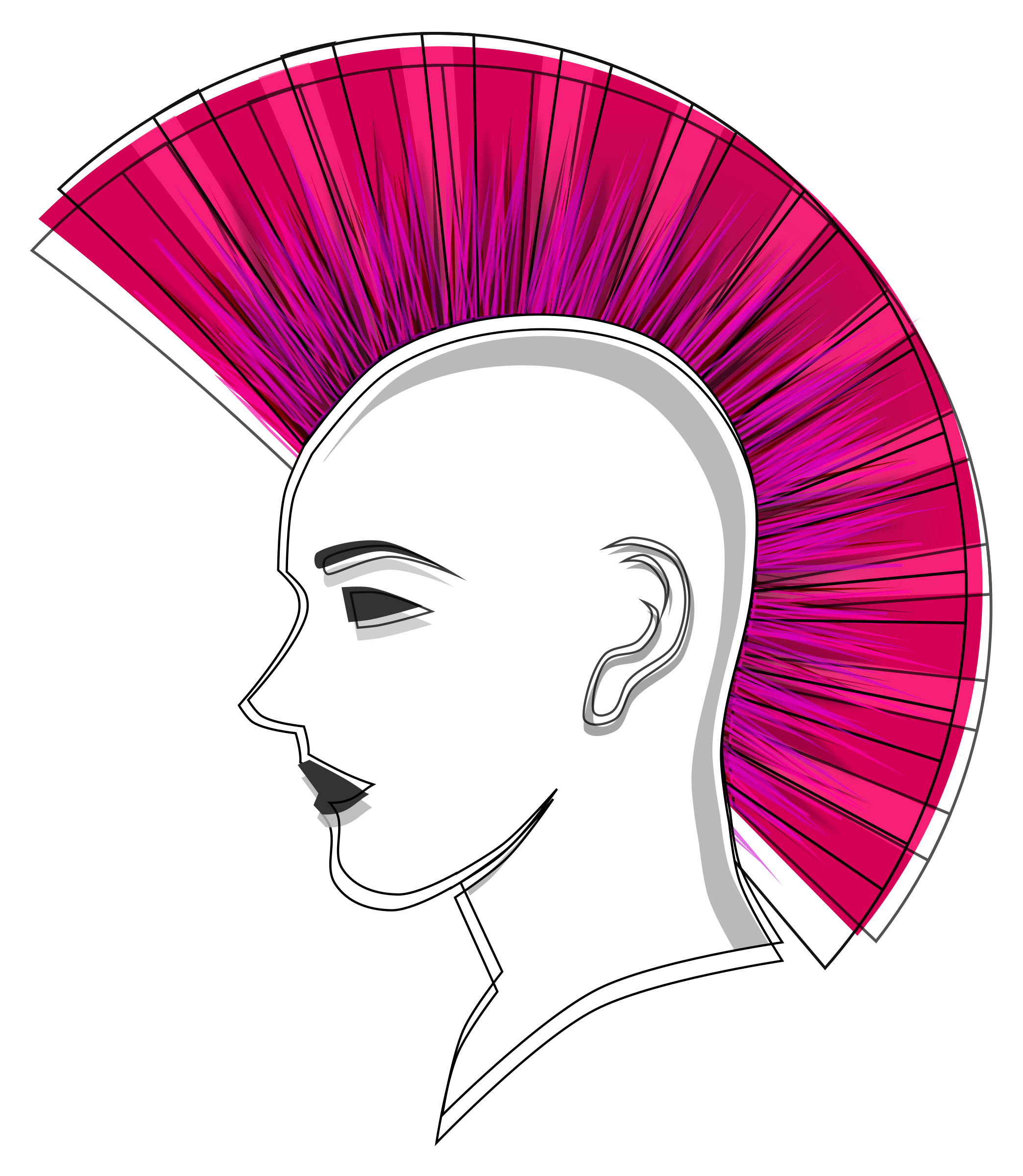 png royalty free download Haircut clipart little girl hairstyle. Short hair transparent free