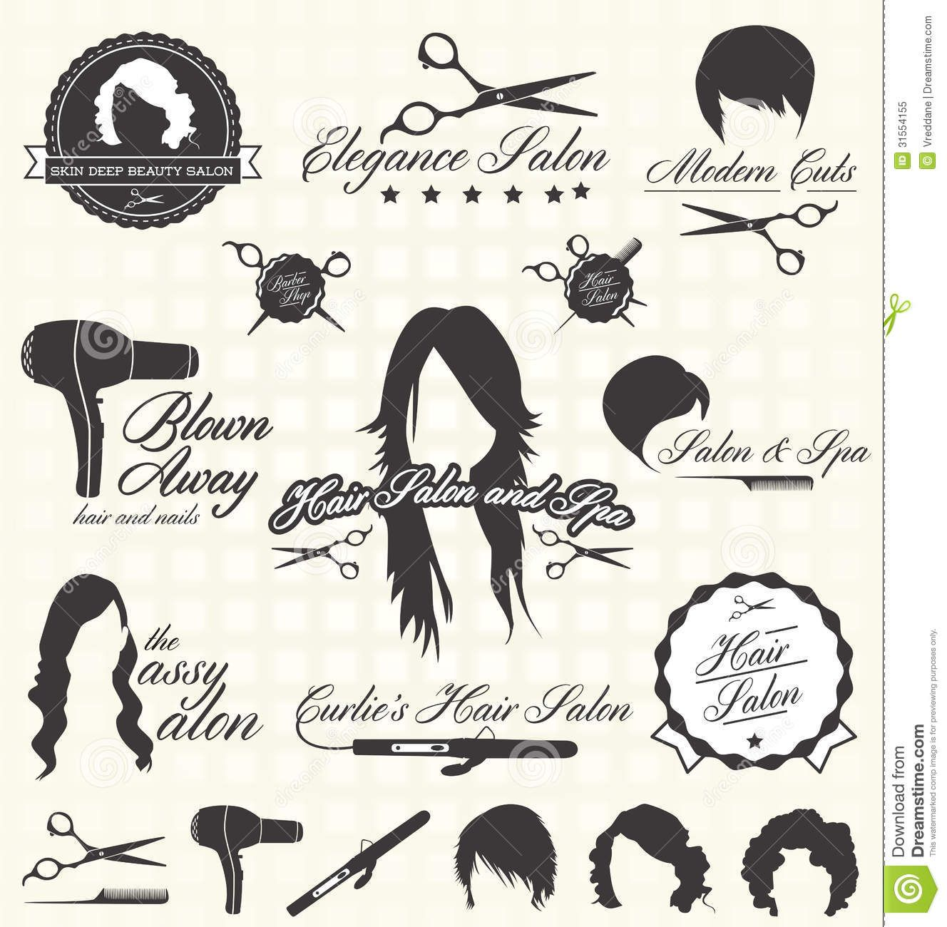 image free library Hairdresser graphics google search. Haircut clipart vintage salon