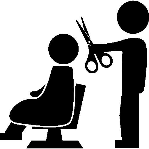 picture transparent Peluquero con tijeras para. Hairdresser clipart cortarse