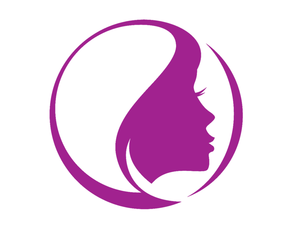 png library download Hairdresser clipart purple hair. Salon blonde at our