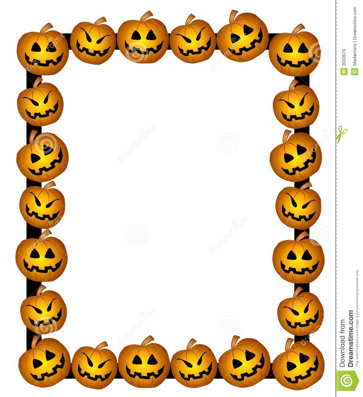 graphic library stock Border panda free images. Halloween borders clipart