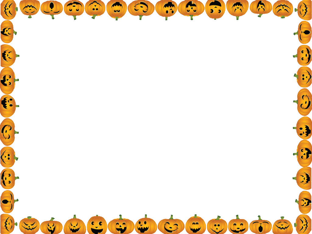 vector library stock  collection of border. Halloween borders clipart