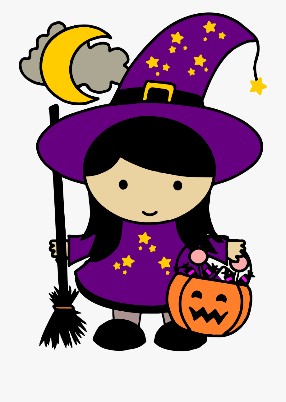 image transparent Cute free clip art. Halloween clipart.
