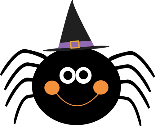 clipart black and white download Spider clipart. Halloween free images clipartix