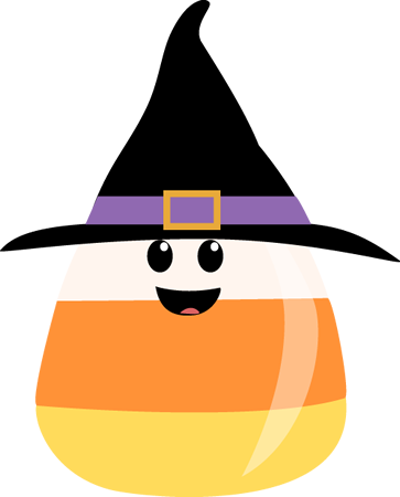 vector freeuse library Halloween clipart. Cute .