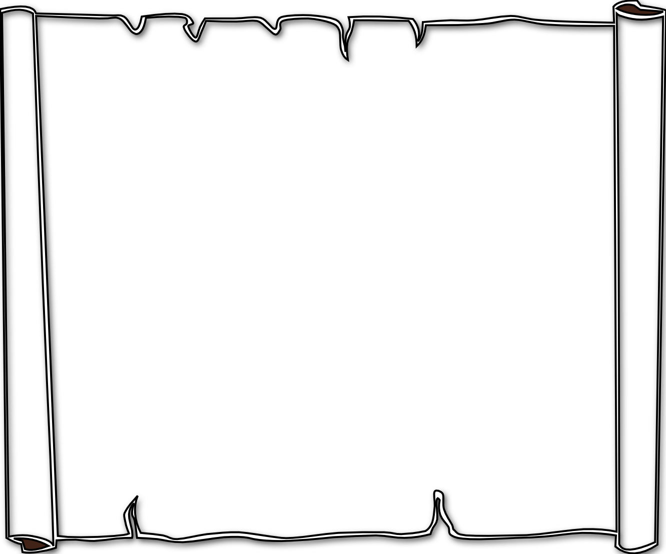 graphic Border free download clip. Halloween clipart black and white borders