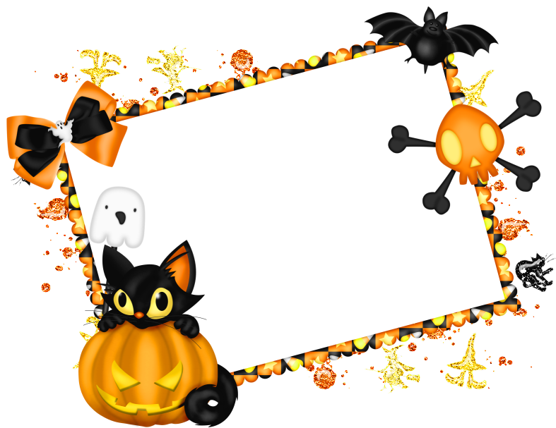 png freeuse Halloween clipart borders.  collection of border
