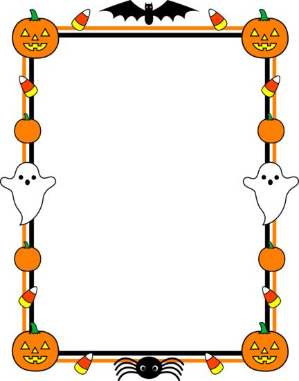 picture free library Clip art cute border. Halloween borders clipart