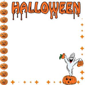 vector royalty free library  clip art clipartlook. Halloween clipart borders