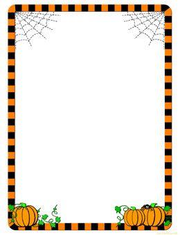 clip black and white stock Border free clip art. Halloween clipart borders