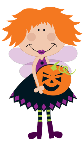 picture royalty free download Clip art. Halloween clipart fairy