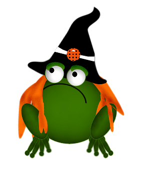 graphic library Halloween clipart frog. Gifs pinterest stickers pumpkins