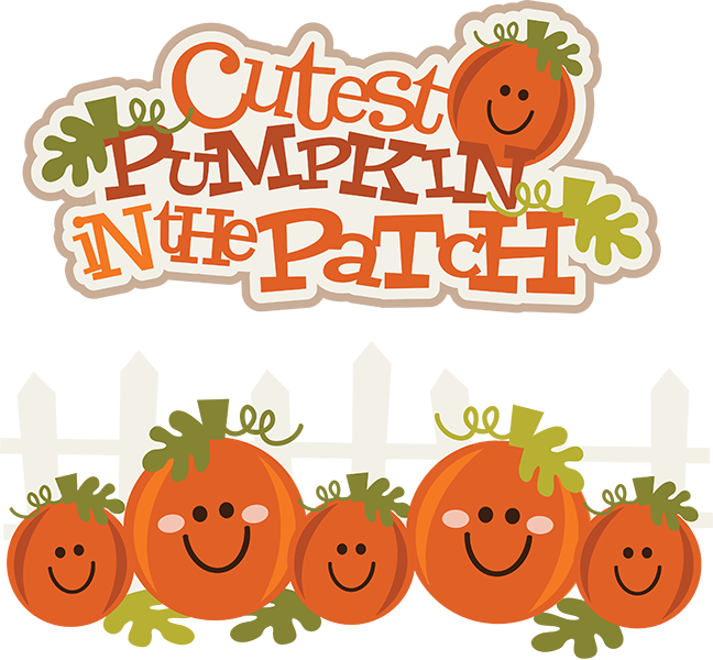 free library Cutest Pumpkin In The Patch SVG pumpkin clipart cute pumpkin clipart