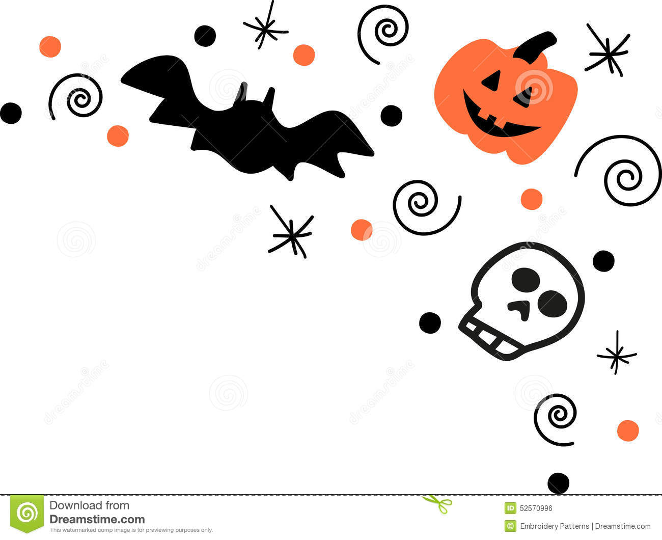 picture library library Halloween corner border clipart. Portal