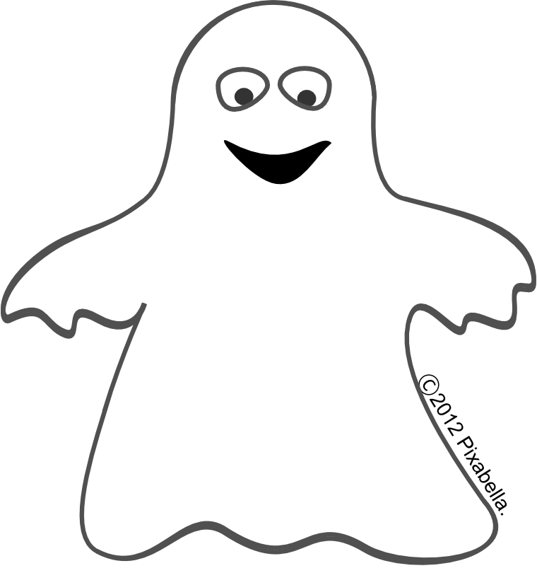 clip art stock ghost face clipart #62784950