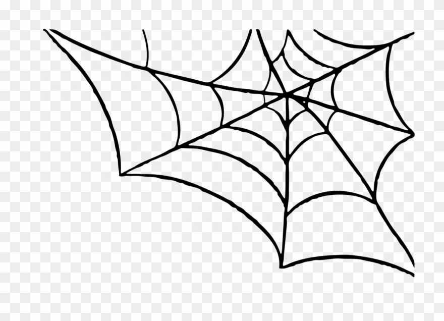 clip freeuse stock Halloween spider web clipart. Clip art png