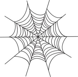clip art library Halloween spider web clipart. Image creepy