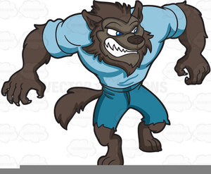 svg library stock Free images at clker. Halloween werewolf clipart