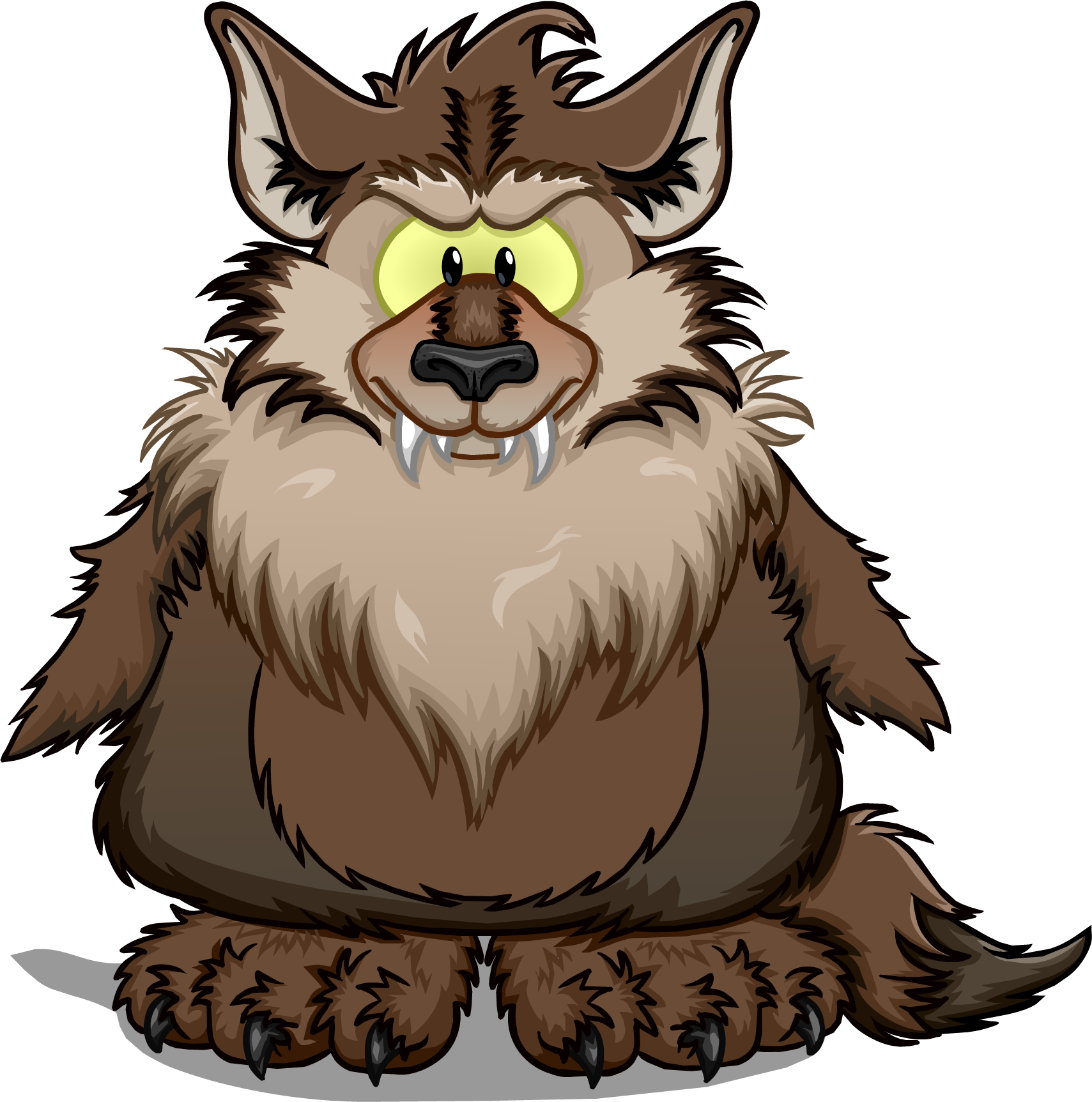 clipart transparent library Halloween werewolf clipart. Image png club penguin