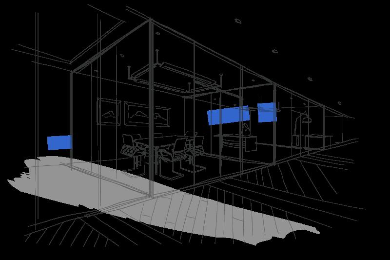 clip transparent The gonneau building group. Hallway drawing