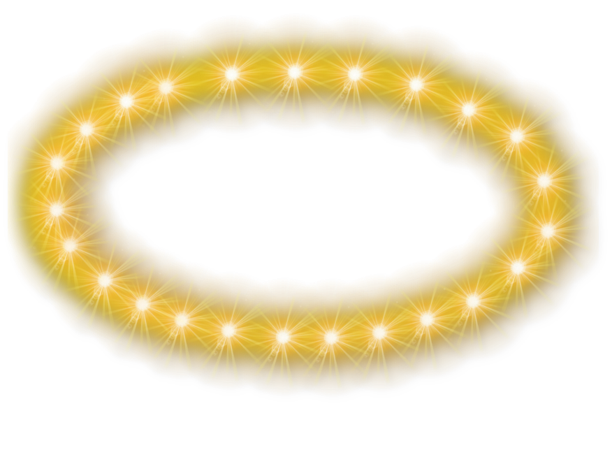 svg freeuse library Halo clipart bangle. Glowing png images transparent